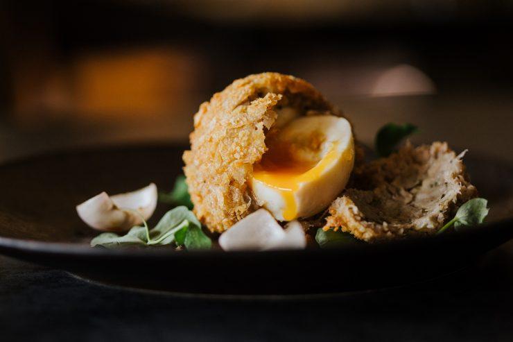 Smoked Haddock Scotch Egg